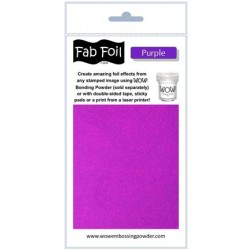 (W216-PRP90)Fabulous Foil -  Purple