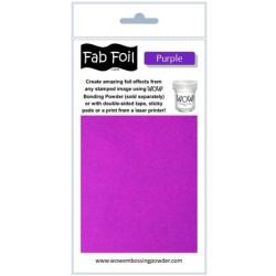 (W216-PRP90)Fabulous Foil -  Purple