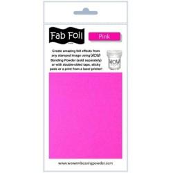 (W216-PK52)Fabulous Foil -  Pink