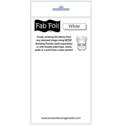 (W216-BW11)Fabulous Foil -  Snowy White