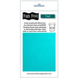 (W216-BLG30)Fabulous Foil -  Teal