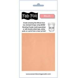 (W216-SAL30)Fabulous Foil -  Blush