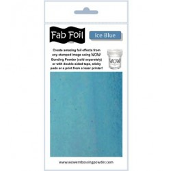 (W216-BLS20)Fabulous Foil -  Ice Blue