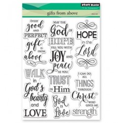(30-429)Penny Black Stamp clear Gifts From Above