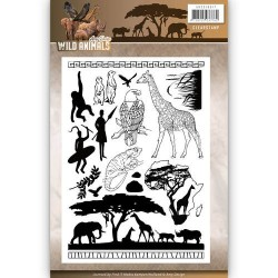 (ADCS10017)Clearstamp - Amy Design - Wild Animals