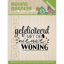 (YCCS10032)Clearstamp - Yvonne Creations - Moving Madness