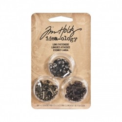 (TH93060)Tim Holtz ring fasteners x9