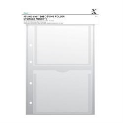 (XCU 245103)Xcut A4 Storage Folder Wallets - A5