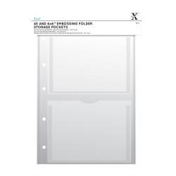 (XCU 245103)Xcut A4 Storage Folder Wallets - A5