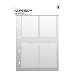 (XCU 245104)Xcut A4 Storage Folder Wallets - A6