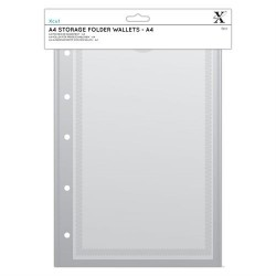 (XCU 245105)Xcut A4 Storage Folder Wallets - A4