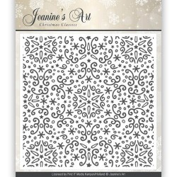 (JAEMB0001)Embossing Folder - Jeaninnes Art - Christmas Classics