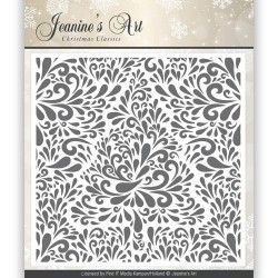 (JAEMB0002)Embossing Folder - Jeaninnes Art - Christmas Classics