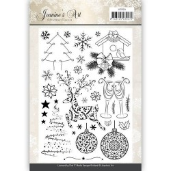 (JACS10004)Clearstamp - Jeaninnes Art - Christmas Classics