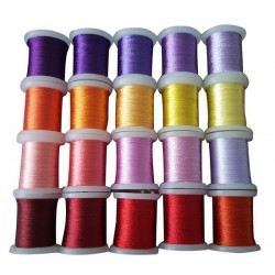 (09.03.09.007)Nellie`s Choice Yarn 20 bobbins embroidery thread set 7
