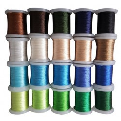 (09.03.09.008)Nellie`s Choice Yarn 20 bobbins embroidery thread set 8