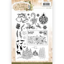 (PMCS10021)Clear Stamp - Precious Marieke - The Nature of Christmas
