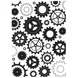 (HSF014)Embossing Folder Cogwheels