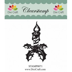 (STAMP0071)Dixi Clear Stamp Candle