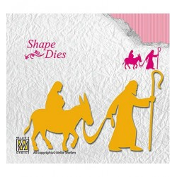 (SD139)Nellie's Shape Dies Nativity
