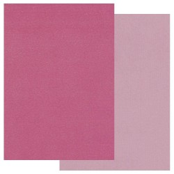 (GRO-AC-40188-A5)Groovi Parchment Paper A5 Two Tone Pink 20 sheets