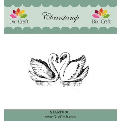 (STAMP0101)Dixi Clear Stamp Swans