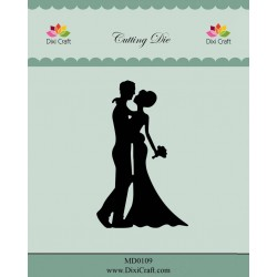 (MD0109)Dixi die Wedding Couple