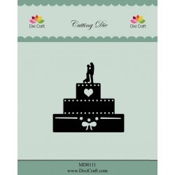 (MD0111)Dixi die Wedding Cake