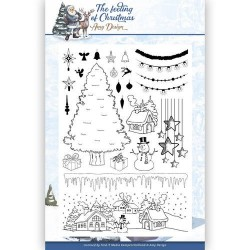 (ADCS10019)Clear Stamp - Amy Design - The Feeling of Christmas