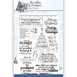 (ADCS10018)Clear Stamp - Amy Design - The Feeling of Christmas