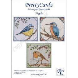 PrettyCardz set Vogels