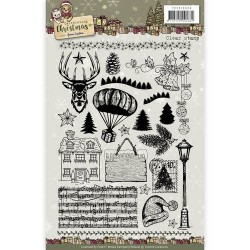(YCCS10036)Clear Stamp - Yvonne Creations - Celebrating Christmas