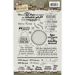 (YCCS10035)Clear Stamp - Yvonne Creations - Celebrating Christmas