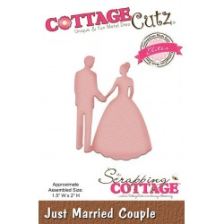 (CCE-470)Scrapping Cottage CottageCutz Just Married Couple