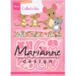 (COL1437)Collectables Eline's mice family