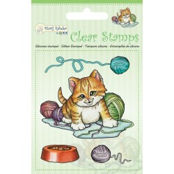 (9.0042)Marij Rahder Clear Stamp Cat