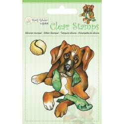 (9.0043)Marij Rahder Clear Stamp Dog