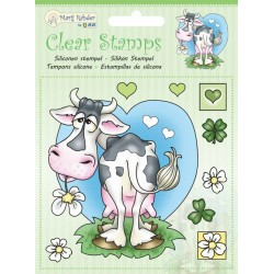 (9.0044)Marij Rahder Clear Stamp Cow