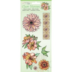 (9.0048)Marij Rahder Clear Stamp Flowers