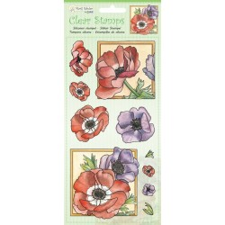 (9.0049)Marij Rahder Clear Stamp Poppy