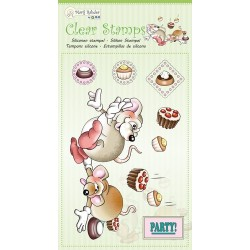 (9.0051)Marij Rahder Clear Stamp Mouses