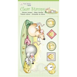 (9.0052)Marij Rahder Clear Stamp Mouses