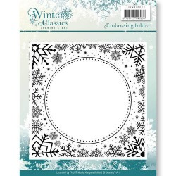 (JAEMB10003)Embossing Folder - Jeaninnes Art - Winter Classics