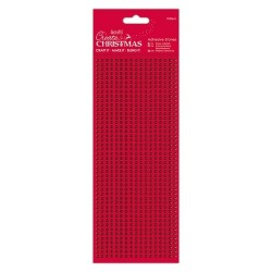 (PMA-351903)Adhesive Stones (1530pcs) - Red
