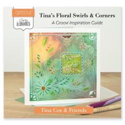 (ACC-BO-30544-XX)CLARITY II BOOK: TINA'S FLORAL SWIRLS & CORNERS