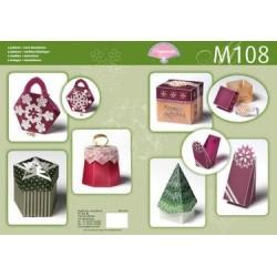 Pergamano M108 Christmas boxes