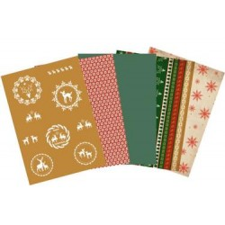 Pergamano parchment paper collection Reindeer (62594)