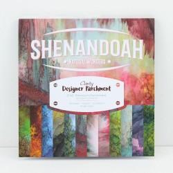 """(ACC-CA-30542-88)DESIGNER PARCHMENT PAPER 8"""" X 8"""" SHENANDOAH"""