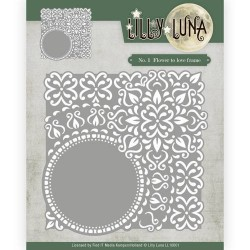 (LL10001)Die - Lilly Luna - Flowers to love frame