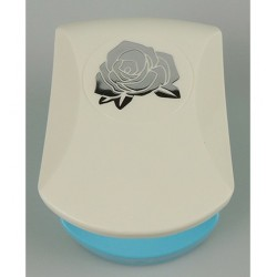 (EBPL005)Nellie's Choice Embossing Punch Medium Rose flower